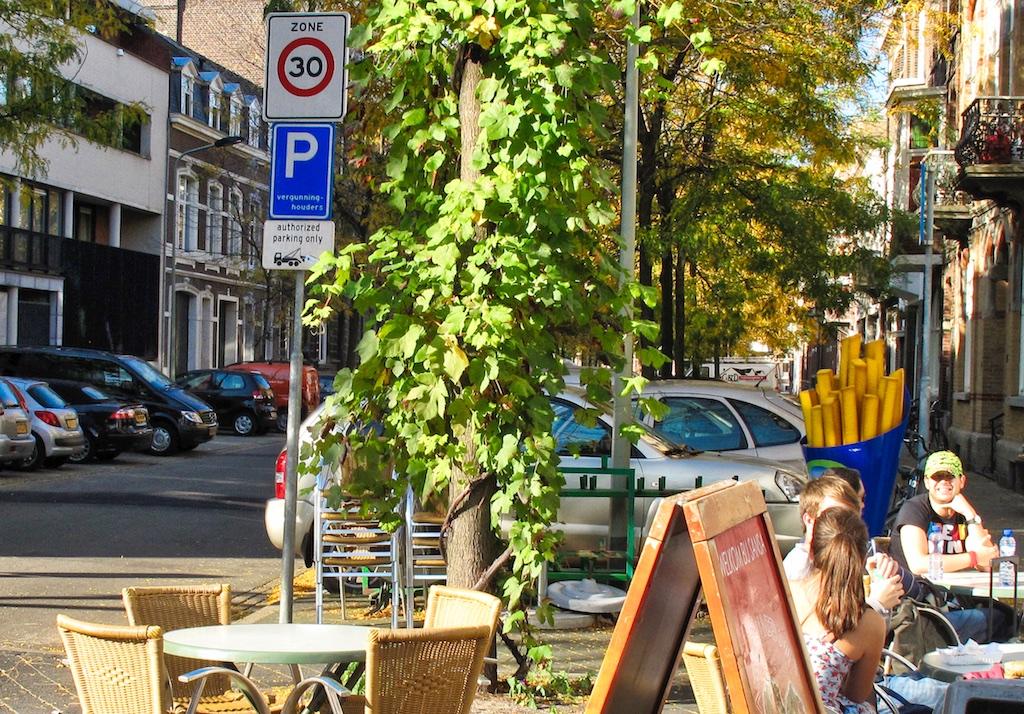 Entrée de zone 30 à Maastricht + qualité de vie