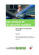 Les seniors et la sécurité routière - de l'analyse à la prévention Vignette