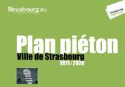 Cohabitation piéton -cycliste à Strasbourg