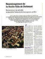 Réaménagement de la vieille-ville de Délémont vignette