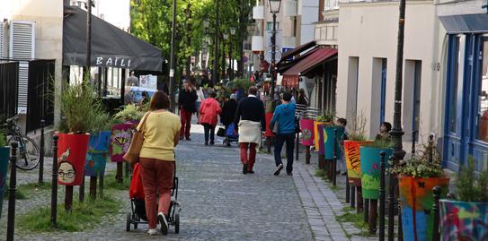 Paris Quartier de St Blaise 20ème arrondissement