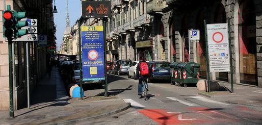 Entrée ZTL de Turin