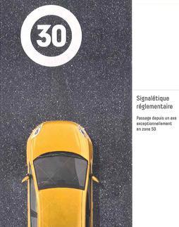 Grenoble Alpes Métropole ville à 30 km/h