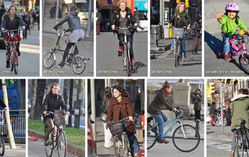 Cyclistes barcelonaises