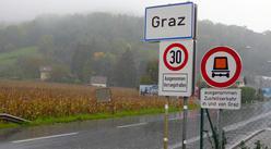 Graz panneau 30 km/h