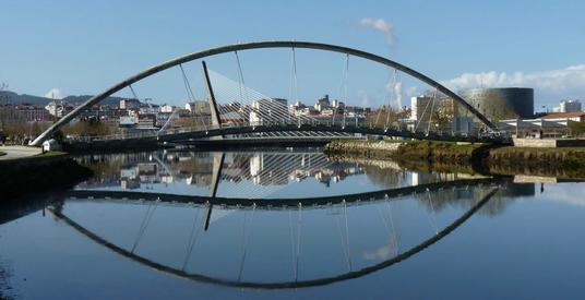 Passerelle piétonne à Pontevedra