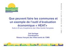 vignette Réseau villes - santé de l'OMS Zoé Héritage