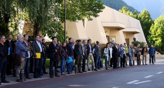 Participants à la Journée Rue de l'Avenir 2014
