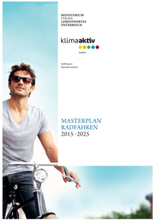 Vignatte Plan national cycliste (Masterplan Radfahren 2015 - 2025)
