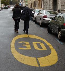 Deux piétons à 30 km/h à Graz - Autriche