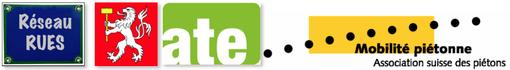 Logos ATE MP Réseeau Rues Martigny