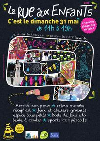 Affiche 'Rue aux enfants'