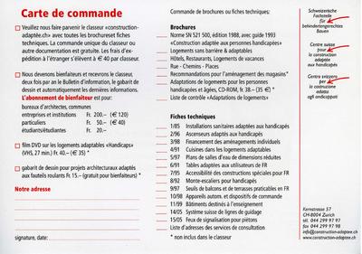 Carte de commande - Toutes les brochures et fiches techniques à portée de main Vignette