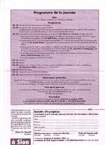 Programme journée 1993 vignette