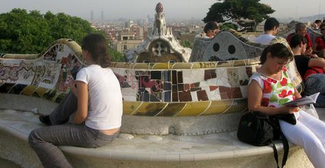 S'asseoir à ... Barcelone