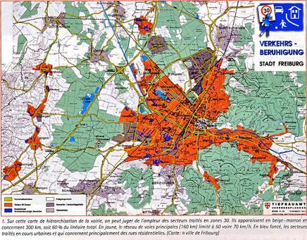 Zones 30 Fribourg-en-Brisgau