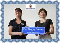 Journée 2011 - Remise du prix Rue de l'Avenir