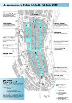 journée d'étude 2011 - Plan des zones de rencontre en vieille ville de Berne - titre