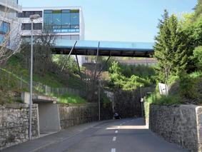 Passerelle du Millénaire à Neuchâtel