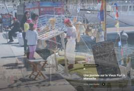 Marseille marchand de savons sur le Vieux Port