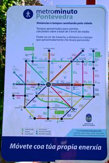Plan pédestre à Pontevedra