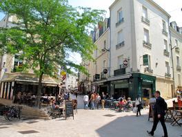 Angers centre piétonnier