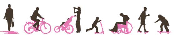 Usagers de la mobilité douce