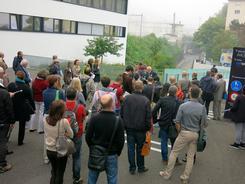 Neuchâtel 2013 : visite de terrain