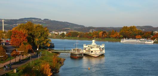 Mobilité douce le long du Danube à Linz