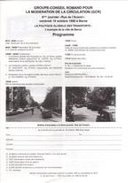 Programme journée 1990 vignette