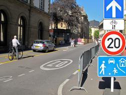 Zone de rencontre à Luxembourg