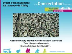 Vignette présentation concertation avenue de Clichy