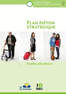 Vignette plan piéton de Bruxelles