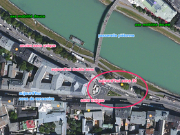 Réaménagement accès viellev-ille et quai à Salzbourg