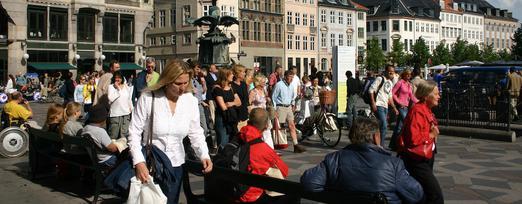 Copenhague - piétons