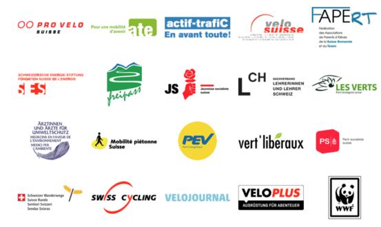 Soutiens initiative Vélo