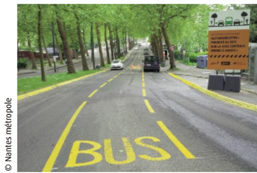 Quand le bus s'inspire du vélo, à Nantes