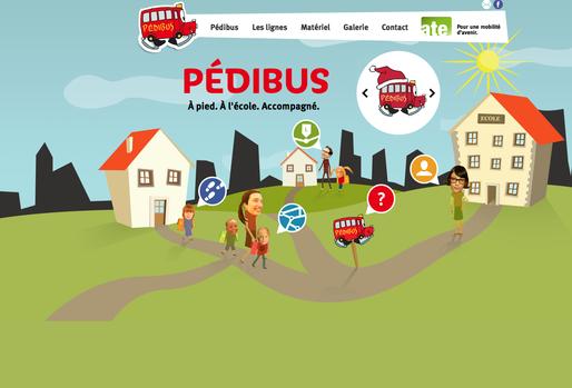 Site Pédibus de l'ATE