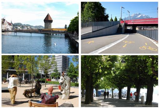 Lucerne mini-voyage d'étude de Mobilité piéton