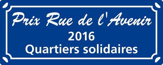 Prix rda 2016 - plaquette